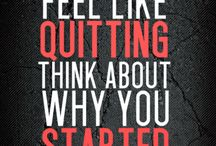Inspiration, Motivation & Determination!