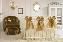 oval baby cribs / by Bratt Decor
