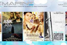 25 Ekim Haftası Filmlerimiz / www.cinemarine.com.tr