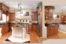 Intricate Details and Drama - Showplace Cabinets / Hamilton and Covington Door Styles