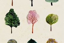 trees. / by Katy Resop Benway