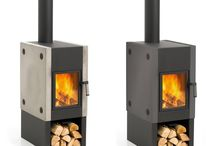 a.Wood Stoves / Examples of modern, interpretive, or ingenious wood stoves. Pinned by Steve Hall Architecture.