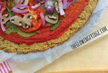quinoa cauliflower crust