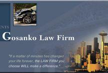 Seattle personal injury lawyer / by Amy Luker