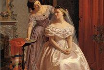 VESTIDOS COM CRINOLINA SEGUNDO IMPÉRIO 1850-1860