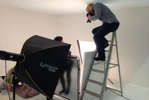 Behind The Scenes / Take a peek at some behind-the-scenes photos from our most recent photoshoots.