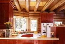 Cabin kitchen/dining / by Mandy Laird
