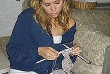 Knitting celebs
