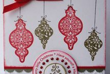 Cards - with Ornaments / by Bonnie Brang