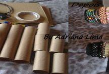 Reciclando / Reciclagem e artesanato