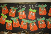 Fall Classroom Decor / Use Smart-Fab to share the fun of fall with your students!