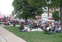 Sounds of Summer Concert Series / 5 summer concerts in downtown Warrensburg! Bring your families, and lawn chairs, and enjoy free music and fun!
