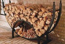 uložit dřevo interiér