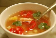 Soup Recipes / Recipes for soups from MyGourmetConnection and our favorite food bloggers, magazines and brands.