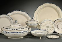 Wedgewood feather pattern