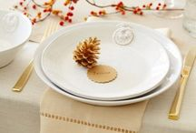 Place settings and Table Decorations