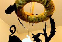 Dekoráció őszre, halloweenra