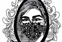 BLART.dk / Drawings and paintings by BetinaLouise(BL). www.BLART.dk # Art BetinaLouise BLART kunst drawings tegninger penart Betina Louise