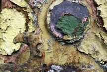 Utopia: textures / Weathered, eroded, rusted and worn: inspirational surface textures that reflect the passing of time. We love capturing the essence of these tactile delights in our creations.