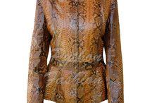 Куртки / Куртки из кожи питона. Высокое качество. Индивидуальный пошив. Любые размеры.