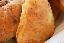 Pane alla ricotta della sardegna