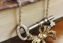 Cool Looking Key Pendants and Necklaces / A collection of keys that have been collaged for pendants and necklaces. / by Margo Horowitz
