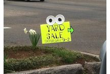 yard sale ideas