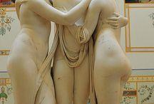 Esculturas 3 graças