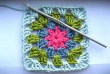 Blankets / Granny squares and patchwork swatches
