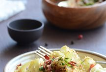r o a s t e d / #roast #roasted #roastedveggies #roasting #autumn #summer #recipes / by KiranTarun.com