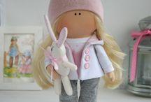 muñecas trapo