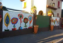 Murales en fachadas