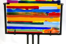 Fused Glass Ideas / by Michelle Booth