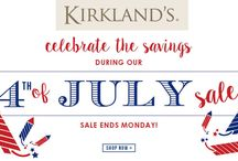 Kirklands Coupon Codes / Kirkland's is a leading specialty retailer in the United States with over 320 stores occupying 35 states and consistently growing. Kirkland is your one stop shop for decorating, entertaining or gift giving and believe strongly that great style can be attained at a great price and affordable prices.fore more coupons and deals visit: http://www.couponcutcode.com/stores/kirklands/