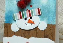 cartes de Noël et de nouvel an  (idées...) / cartes de voeux.