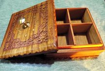 Boxes and Homewares / Check out our lovely handmade wooden boxes and homewares! :)