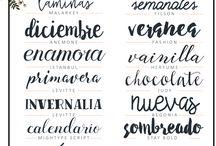 tipografias bonitas