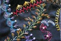 Crazy quilting embroidery love it