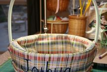 Basket liners / Basket liners and Covered Boxes / by Elaine Didelot