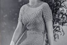 1930s Knitted & Crocheted Clothing