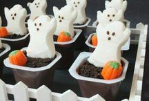 Halloween Snack Ideas - my speed, and nut-free for school / by Joanna Hurley