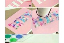 DIY Tumblr Room Decoration / You need to try this DIY. It's so easy, cute and fun to do it.