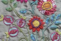 stitching / crewel and embroidery