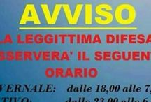 legittima difesa part time