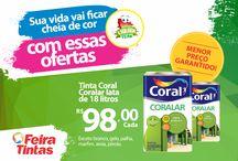 PROMOÇÕES!!! LIQUIDA FEIRA TINTAS!!! Sandro Vendas
