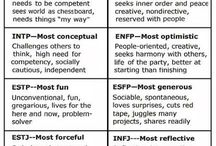 Personality Type: Myers Briggs (ENFP) / by Rebecca Ford