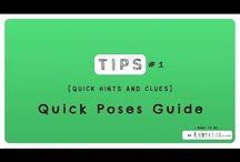 Animation Tips / collections of Tips, hints and clues about animation! #animation #tutorial #tip #learn #maya #3D #cartoon #2D #video #lesson #learn #autodesk #eleven rig #poses #silhouette