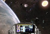 Virtual Escapes (360°) / Video di realtà virtuale a 360°, per sperimentare i viaggi nello spazio.