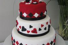 ♡Harley and Joker Cake♡