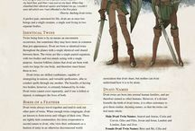 DnD Alternate Races and Classes